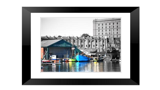 Framed Print Underfall Yard Bristol