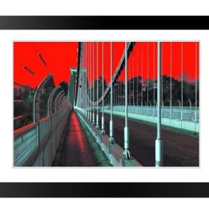 Framed Print Clifton Suspension Bridge