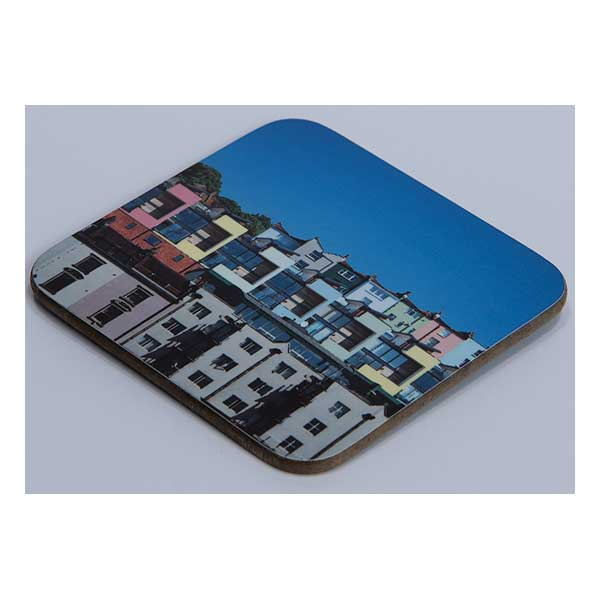 Coaster Coloured Houses Bristol