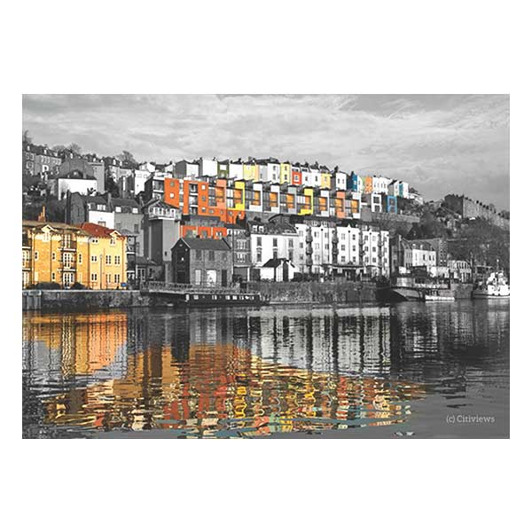 Reflections at Harbourside print