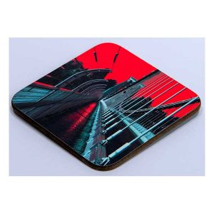 Coaster Suspension Bridge with Red