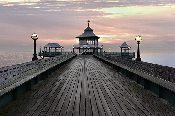 Sunset at Pagoda Clevedon Pier
