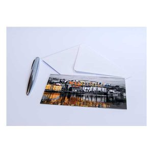Reflections at Harbourside Greeting Card