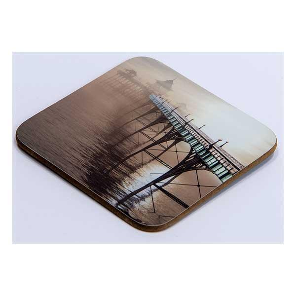 Clevedon Pier in Fog Coaster