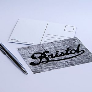 Bristol Logo Postcard