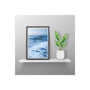 Tidal Waters at Porlock Framed