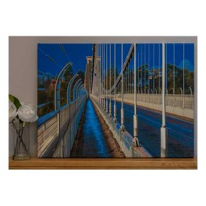 Canvas Suspension Bridge in Blue
