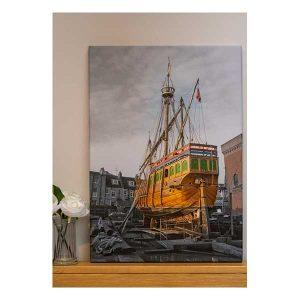Canvas Matthew in Dry Dock Bristol