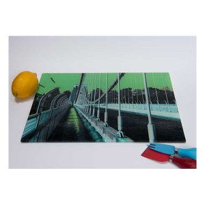 Chopping Board Suspension Bridge Lime