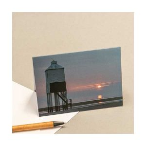 Greeting Card Burnham Lighthouse