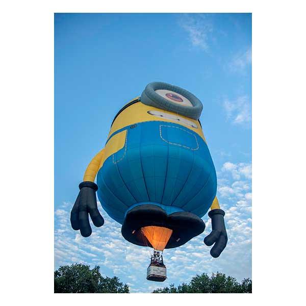 Minion Balloon Flying